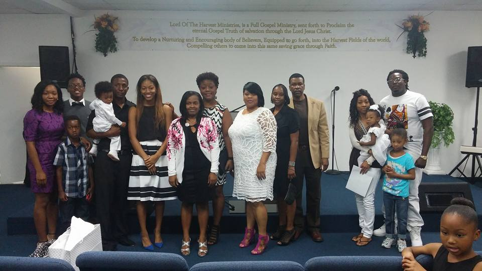 Lord of the Harvesy Baby Dedication pic 1